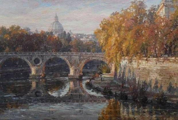 Jesień w Rzymie Barbara Jaśkiewicz