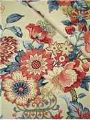 4th of July Fabric - Graceful Garden Poppy