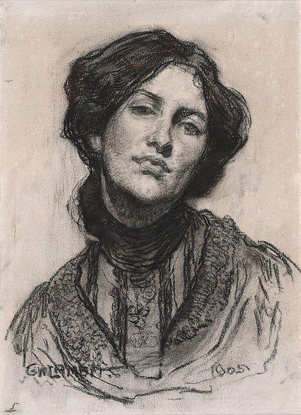 George W Lambert: Lambert Russia, Proctor 1905, Victorian Lady, Australian Artists, Woman Portraits, Australia 1873 1930, George Lambert, Drawing, Thea Proctor
