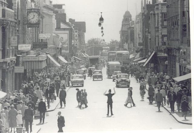 Southend High Street, August 1960