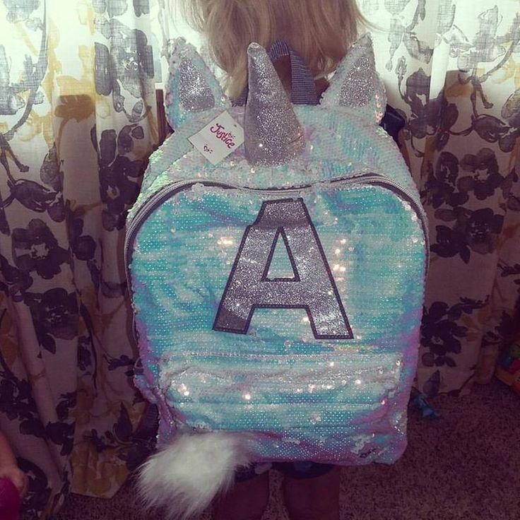 Unicorn Initial backpack A  unicorns  Unicorn