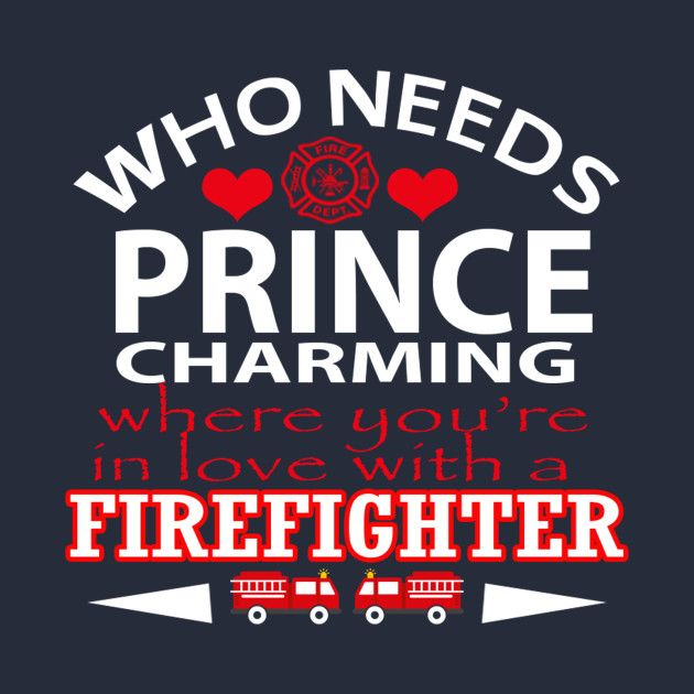 Check out this awesome 'In+Love+With+Firefighter' design on @TeePublic!