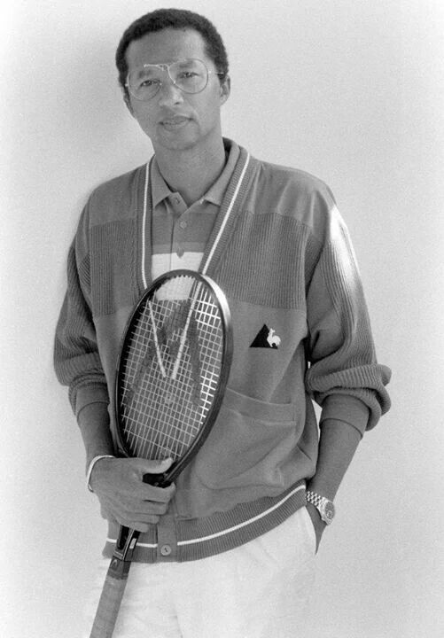 Arthur Ashe. Led the way for other black tennis players. Died in 1993
