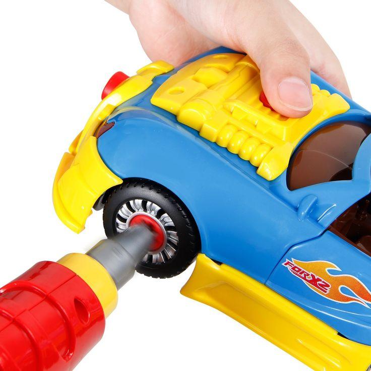 SGILE Auto da Corsa Take-A-Part Giocattolo con i Giocattoli Educativi da Costruzione per i Bambini con le Attrezzi Luci Drill e Suoni: Amazon.it: Giochi e giocattoli