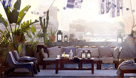 30 besten outdoor daybed bilder auf pinterest garten terrasse strandh tten und wohnideen. Black Bedroom Furniture Sets. Home Design Ideas
