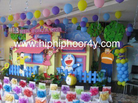 Decoration » Doraemon • www.hiphiphoor4y.com - Acara dan pesta ulang tahun anak : kids birthday party organizer, event organizer ulang tahun anak anak, jasa penyelenggara ulang tahun anak, dekorasi balon, dekorasi 3 dimensi,