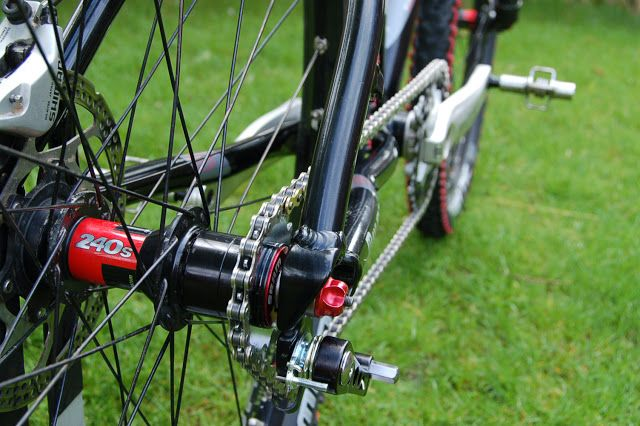 Single Speed Conversion Complete Following The Chainline
