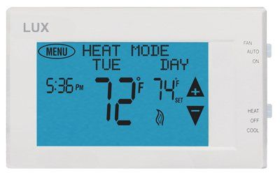 Lux Products TX9600TS 7-Day Programmable Touch Screen Thermostat Lux Products TX9600TS NEW https://homeandgarden.boutiquecloset.com/product/lux-products-tx9600ts-7-day-programmable-touch-screen-thermostat/