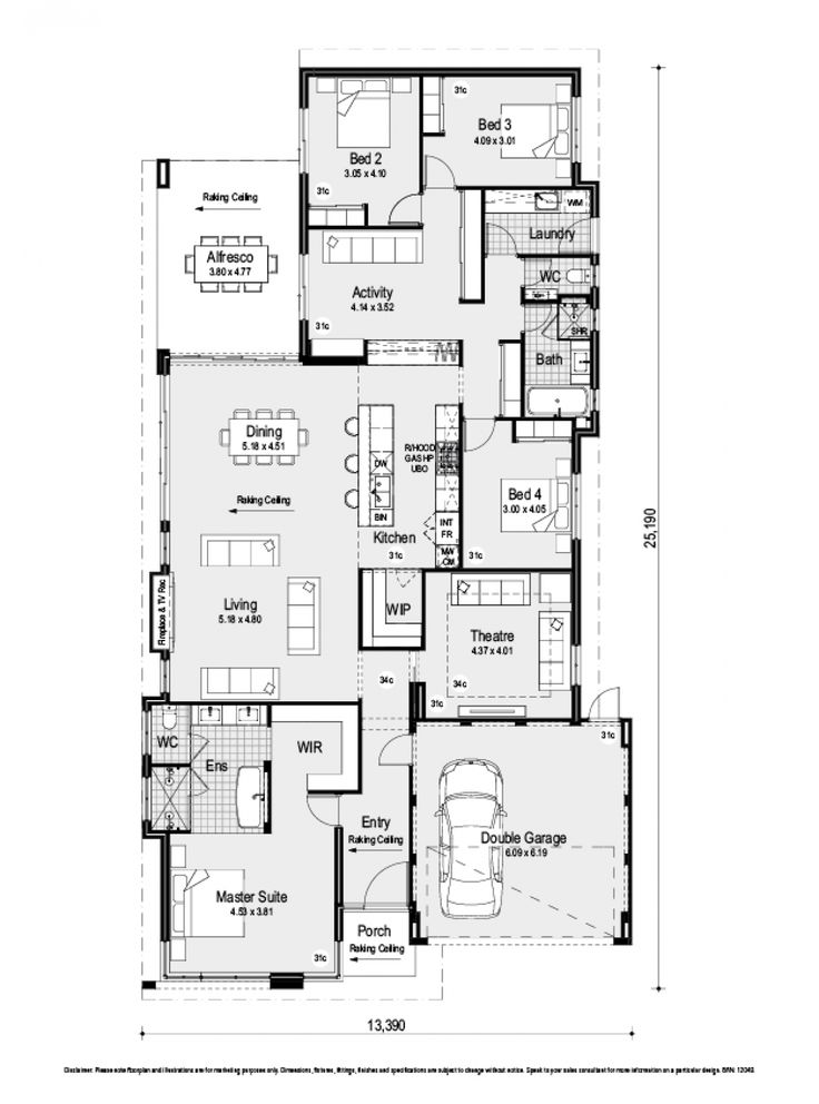 The Meridian Display Home By Red Ink Homes In Eden Beach