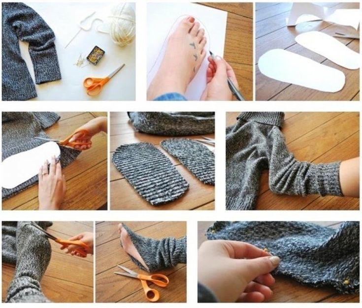 15 невероятных идей, позволяющих переделать старый ненужный свитер в интересную, модную или практичную вещь для вашего гардероба или дома.