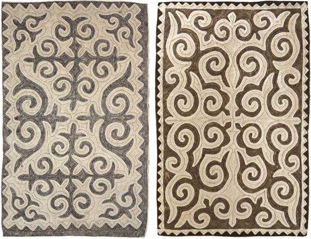 Eighteenth Century Agrarian Business: Shyrdak rugs