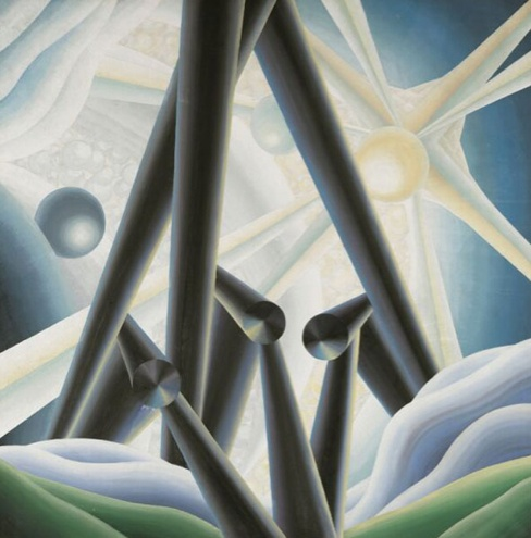 Bertram Brooker. Alleluiah.1929. Oil on Canvas.