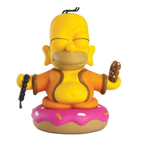 Simpsons Homer Buddha 3-Inch Vinyl Mini-Figure