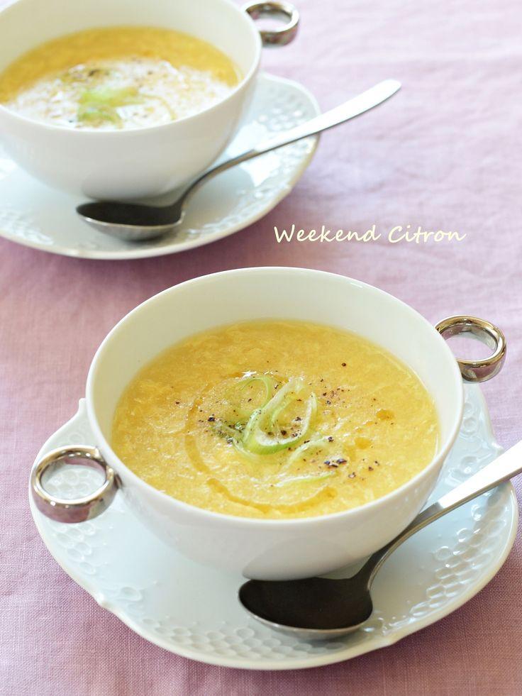 コーンと卵の中華スープ by 北島真澄 / 子どもたちの大好物。優しい味のスープは中華の定番です。 / Nadia