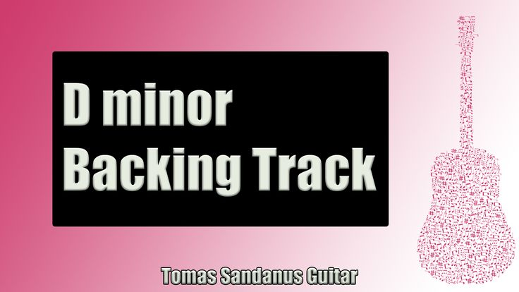 Backing Track in D Minor Emotional Pop Rock Ballad with Chords and D Minor Pentatonic Scale
