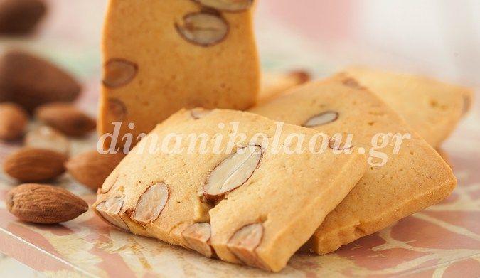 Μπισκότα σαμπλέ με αμύγδαλα
