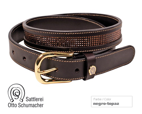 Schumacher Belt with Crystals
