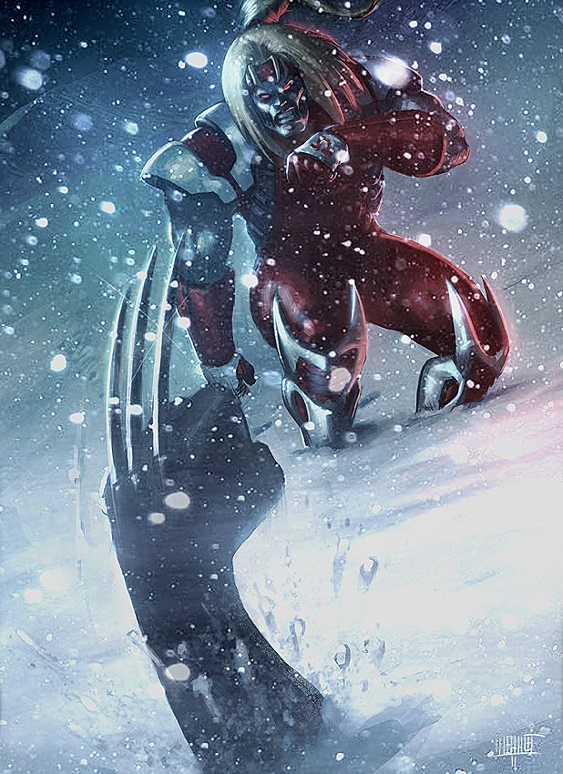 Omega Red vs. Wolverine - Memed.deviantart.com