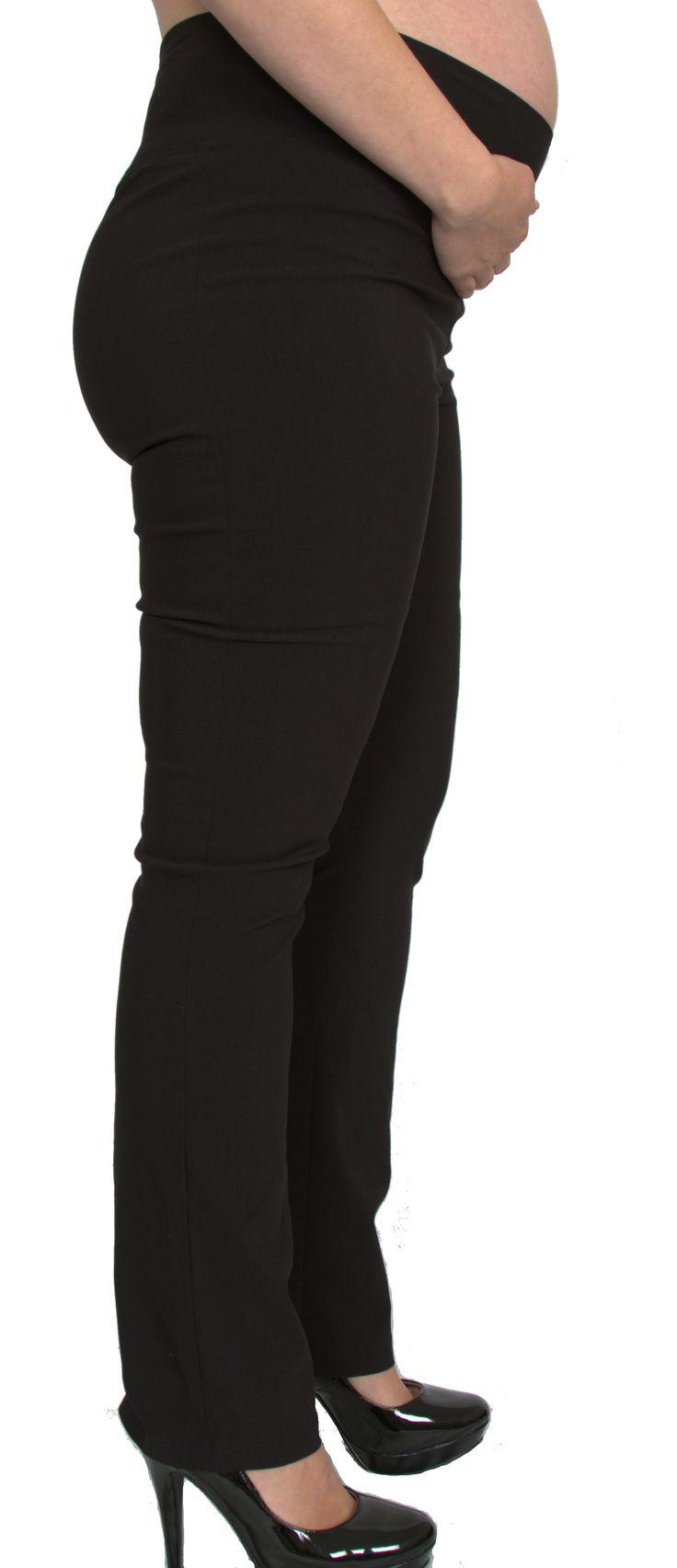 Straight leg materity pants from ljb maternity