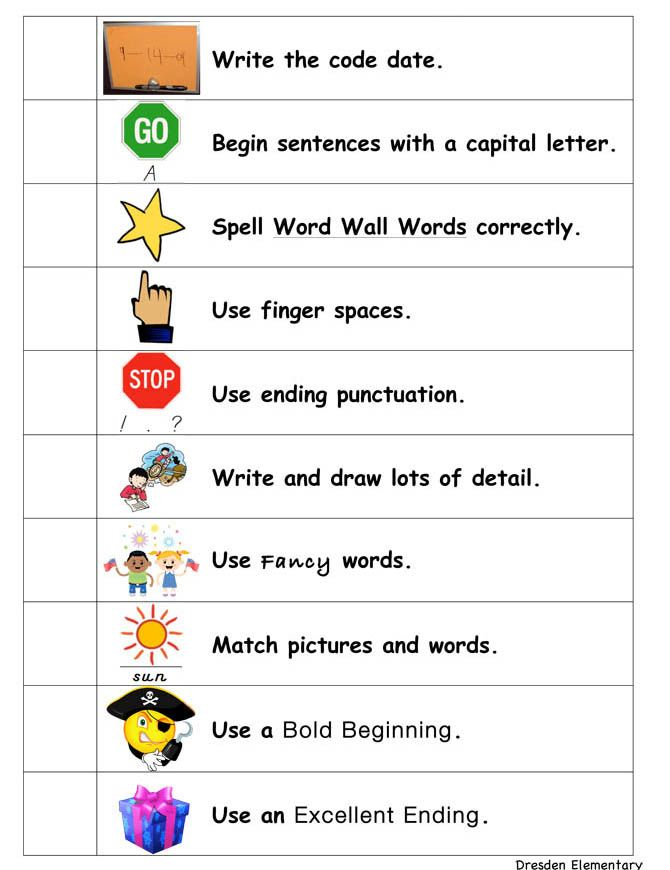 English Language Arts Standards » Writing » Grade 1