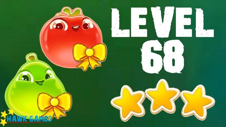 Farm Heroes Super Saga - 3 Stars Walkthrough Level 68