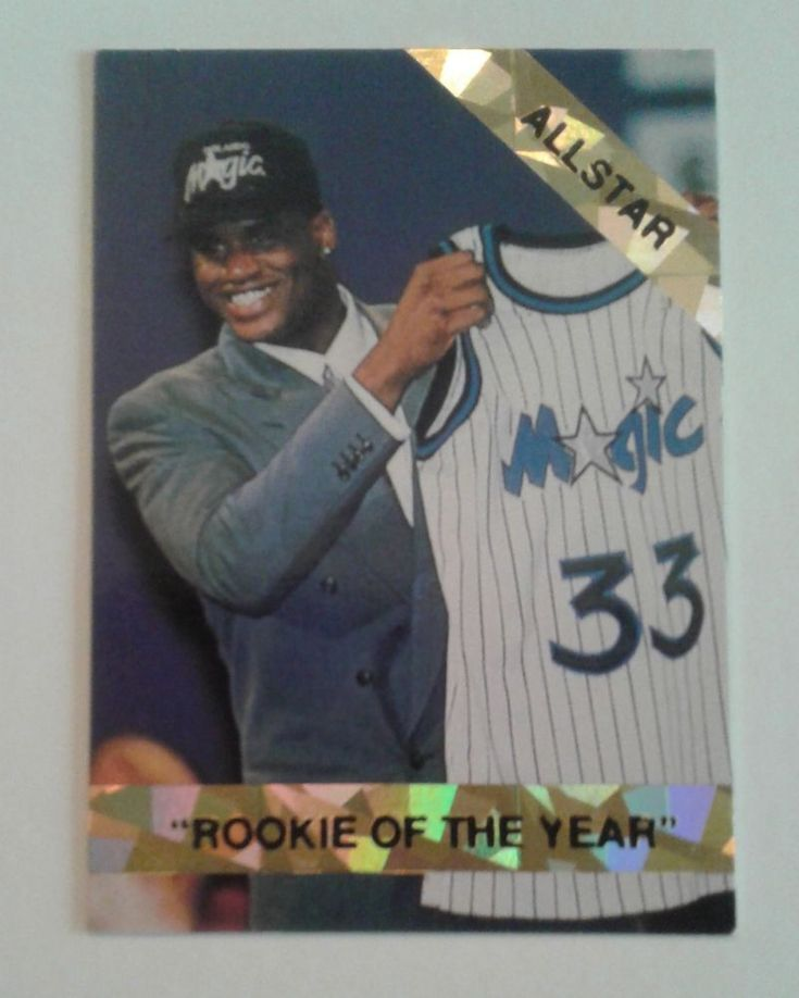 Rookies Coupons: 1992 93 SHAQUILLE O'NEAL ROOKIE OF THE YEAR LIMITED