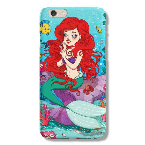 Ariel iPhone 6 case from The Dairy www.thedairy.com #TheDairy #PhoneCase #iPhone6 #iPhone6case