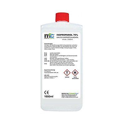 Medicalcorner24® 1 Liter Isopropanol 70 % Isopropylalkohol 2 Propanol Cleaner, Reinger