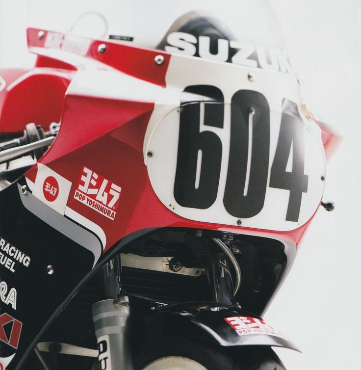 Yoshimura Suzuki GSX-R750 1986