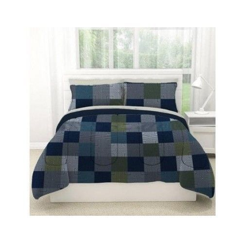 MINECRAFT Style Bedding Block Comforter Sheet Reversible