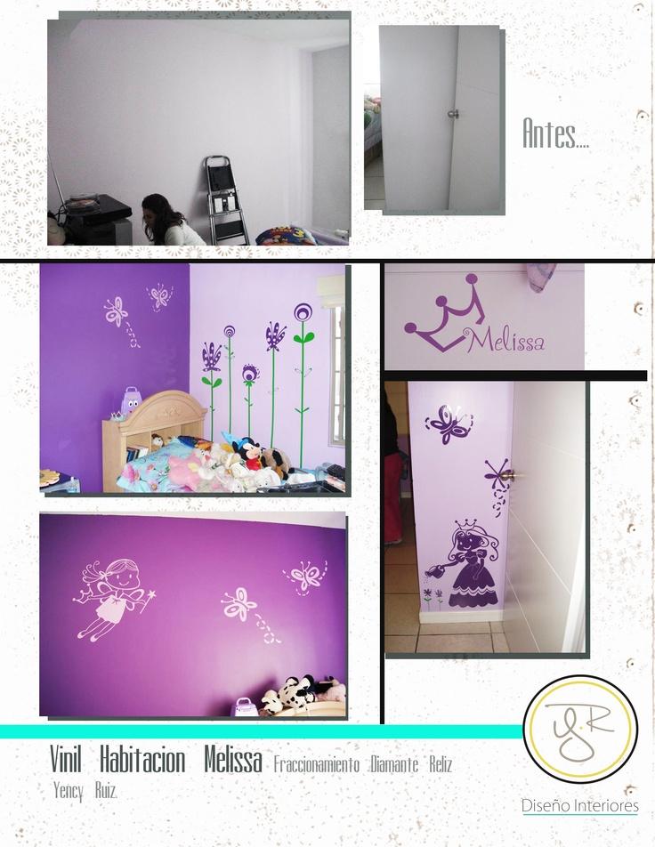 vinil decorativo cuarto infantil