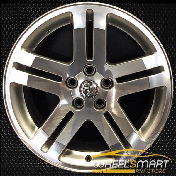 18 Dodge Charger Oem Wheel 2005 2007 Polished Alloy Stock Rim 2248 Oem Wheels Dodge Charger Dodge Magnum