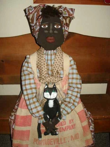 68 Best Images About Black Mammy Dolls On Pinterest