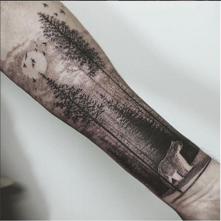 Half sleeve © @nanomammoth Seattle Washington USA on Instagram
