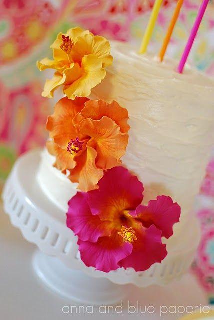 Aloha Summer Birthday Party | | Kara's Party Ideas