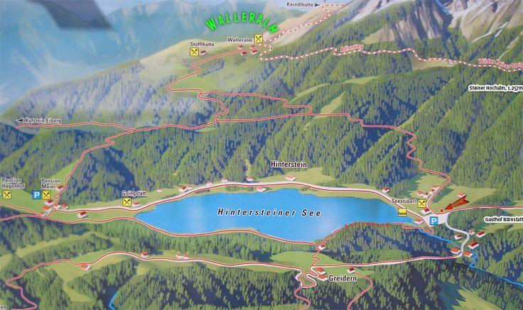Walleralm (Scheffau) ab Hintersteiner See