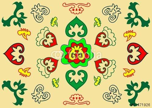 татарский орнамент вектор - Поиск в Google