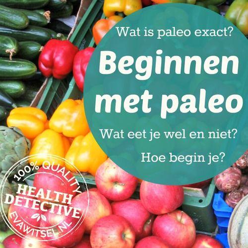 Beginnen met paleo | www.evawitsel.nl