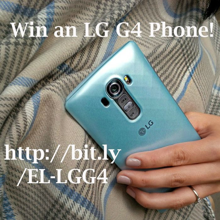 {Giveaway} Win the LG G4 phone! (Canadians only!)