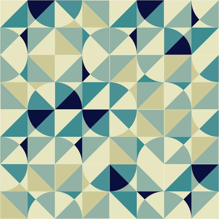 """""""•   Alexandre Mancini Considerado um dos principais artistas da azulejaria brasileira modernista, seu trabalho é inspirado na obra de Athos Bulcão. Via MERCURIONAVEIA """""""