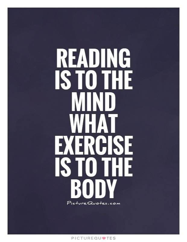 Got to have my books! I feed the mind and the soul!