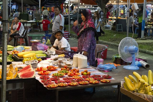 Brunei night market