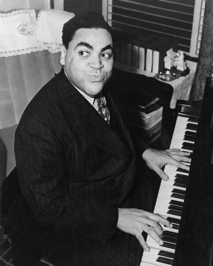 """Fats"" Waller [1904, New York City, NY - 1943, Kansas City, KS] Thomas Wright…"