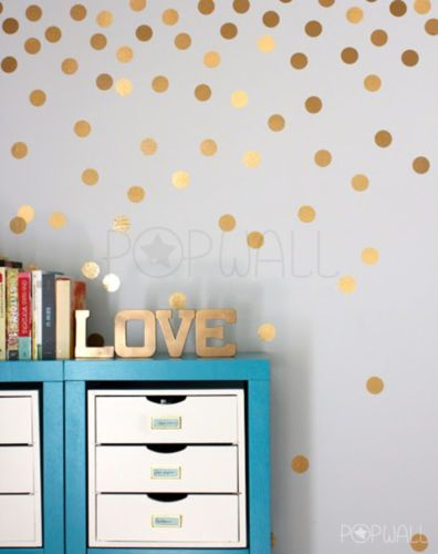 Best Ellas Room Images On Pinterest - Wall decals polka dots