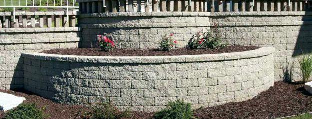 Quikrete Bag Retaining Wall Bag Landscaping Retaining Walls