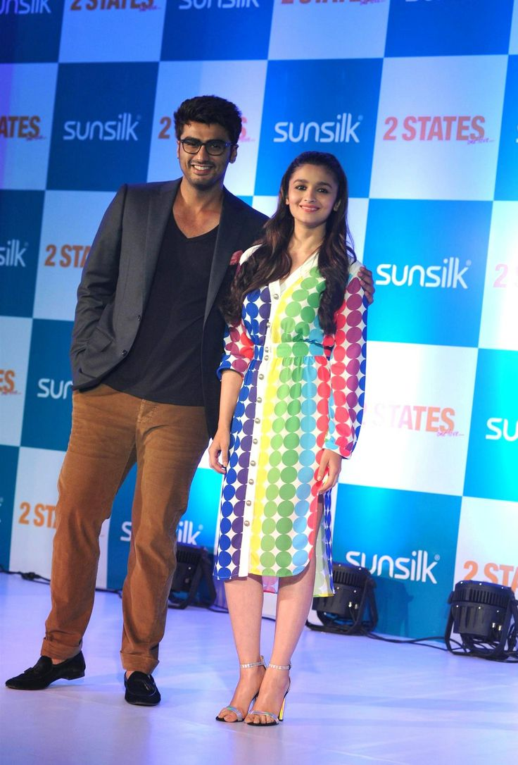Alia Bhatt and Arjun Kapoor