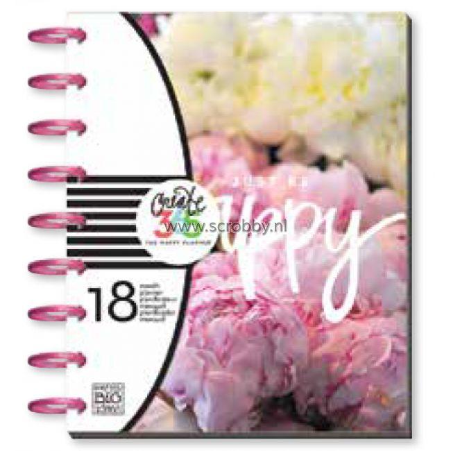 Me & My Big Ideas Create 365 Happy Planner Peony Florals (aangepaste garantie)