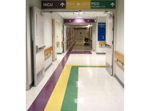 WAYFINDING SYSTEM FOR DENVER CHILDRENS HOSPITAL View 1