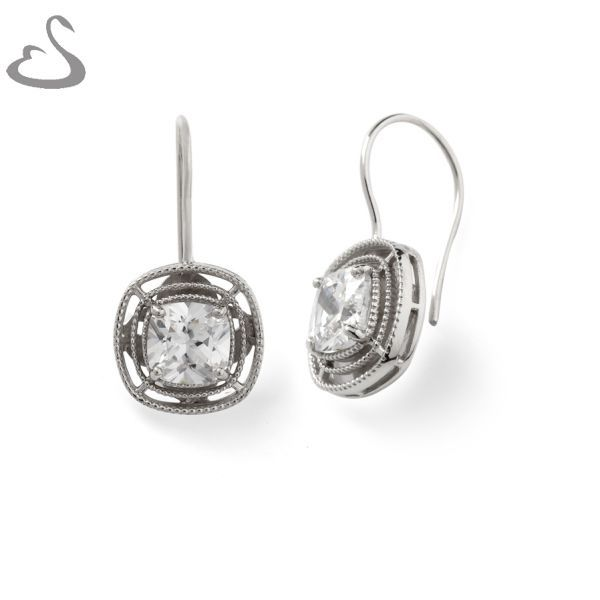 925 Sterling Silver and Cubics. ER-144. Company: Vera's Bridal Collection. Website: www.verasbridalcollection.co.za