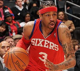 "Allen Iverson ""The Answer"" my favorite basketball player of all-time, period."